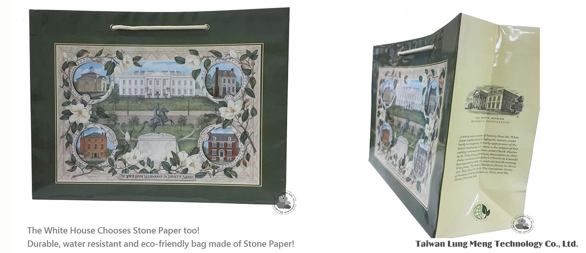 Gifts Made Of Stone : White house gift bag is made of stone industrial e